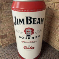 Jim Beam Vending Fridge